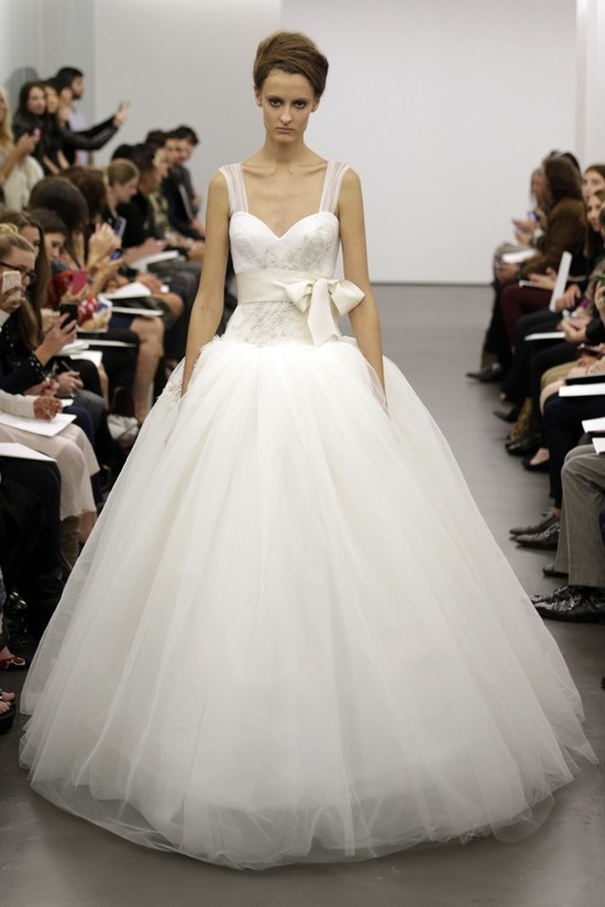 Vera Wang wedding dress Fall 2013 bridal 5