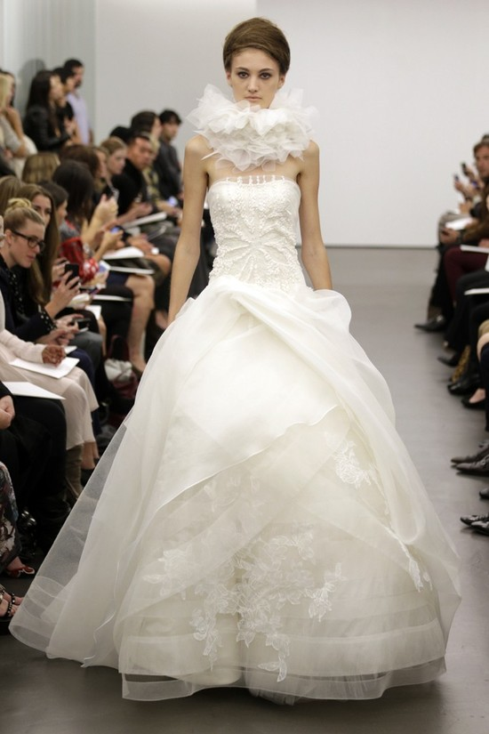 Vera Wang wedding dress Fall 2013 bridal 6