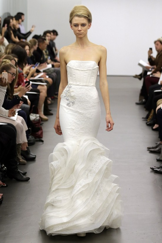 Vera Wang wedding dress Fall 2013 bridal 9
