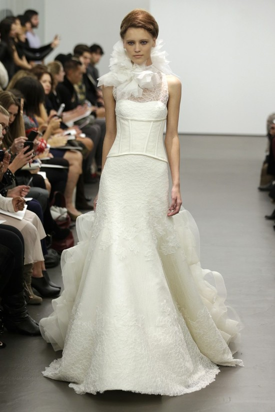 Vera Wang wedding dress Fall 2013 bridal 10