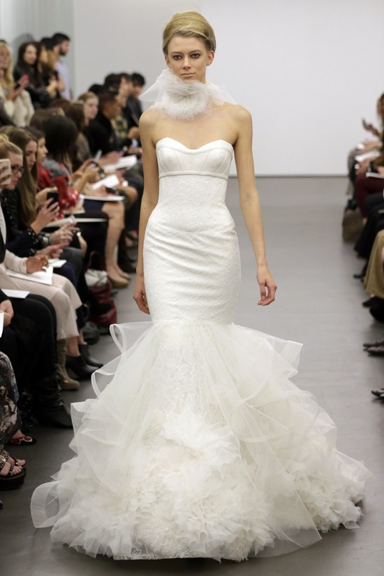 Vera Wang wedding dress Fall 2013 bridal 16
