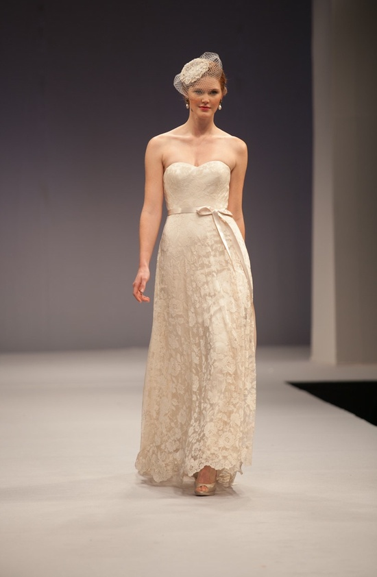 Anne Barge wedding dress Fall 2013 bridal Zoe