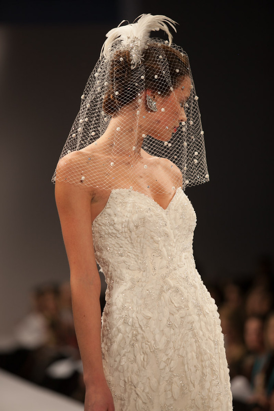 Anne Barge wedding dress Fall 2013 bridal Angelique detail