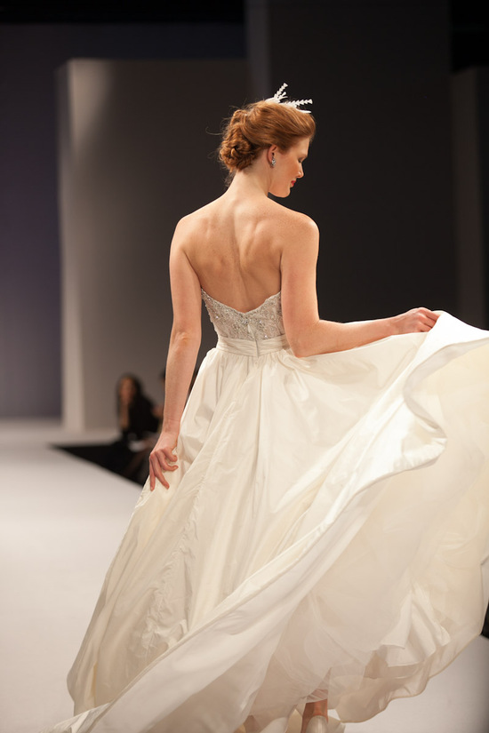 Anne Barge wedding dress Fall 2013 bridal Antoinette