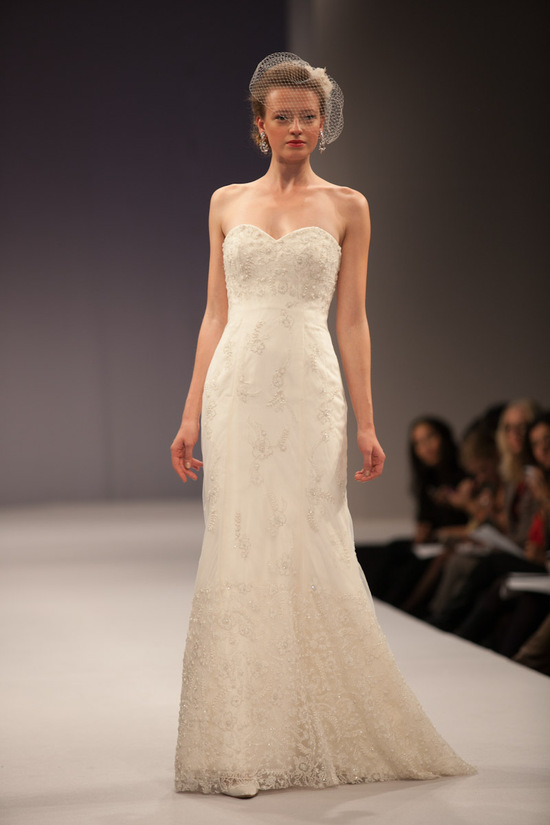 Anne Barge wedding dress Fall 2013 bridal Emilie