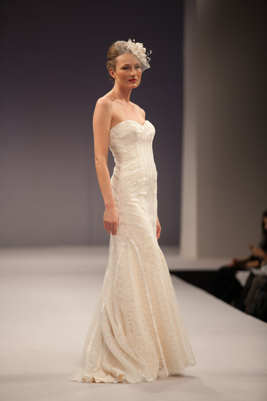 photo of Anne Barge wedding dress Fall 2013 bridal Claudine