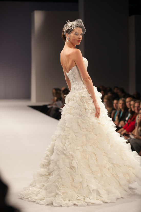 Anne Barge wedding dress Fall 2013 bridal Capucine