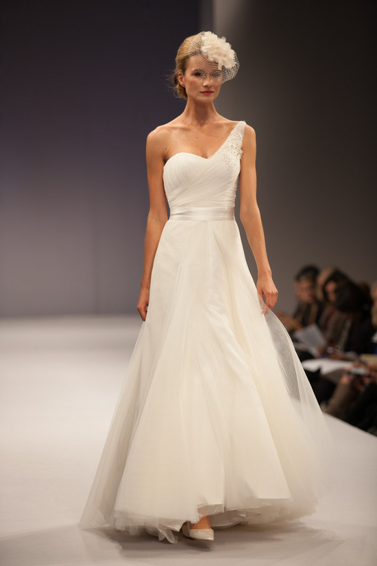Anne Barge wedding dress Fall 2013 bridal Celeste