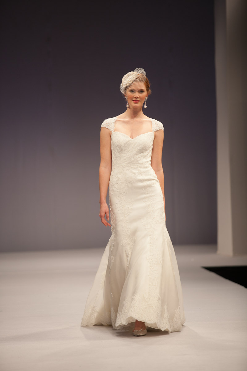 Anne Barge wedding dress Fall 2013 bridal Genevieve