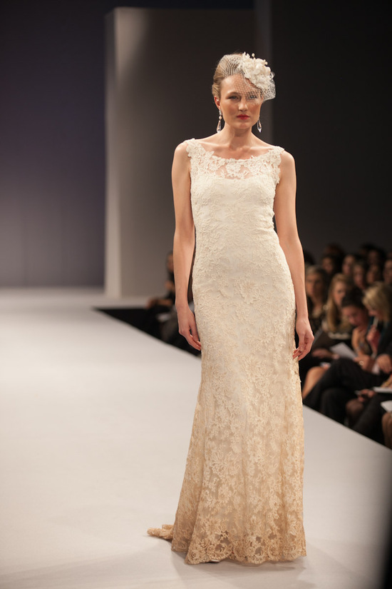 Anne Barge wedding dress Fall 2013 bridal Carisse 2