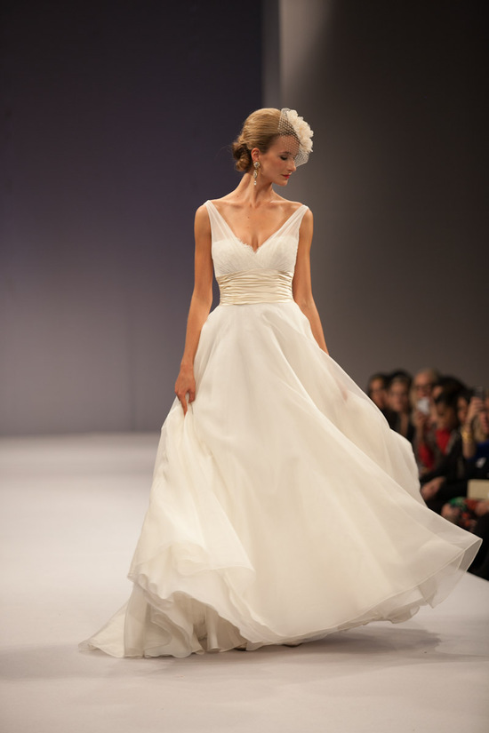 photo of 25 Drop Dead Gorgeous Fall 2013 Wedding Dresses by Anne Barge
