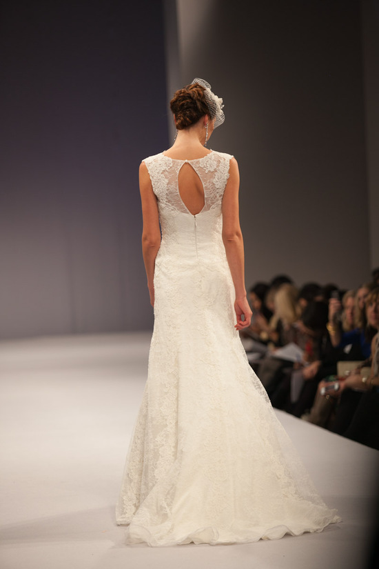 Anne Barge wedding dress Fall 2013 bridal Clotilde