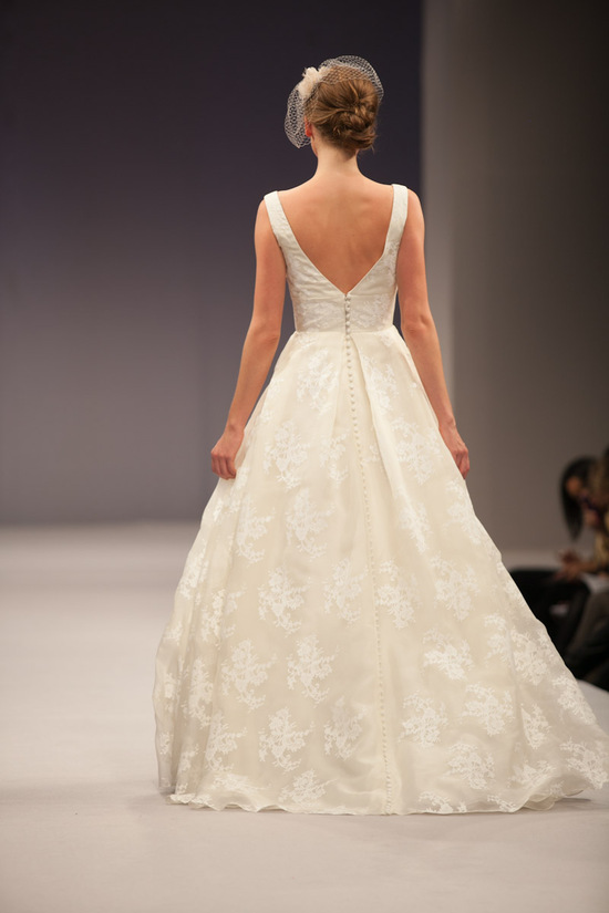 Anne Barge wedding dress Fall 2013 bridal Madeline