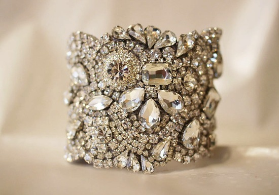 bridal cuff bracelet handmade wedding accessories 11