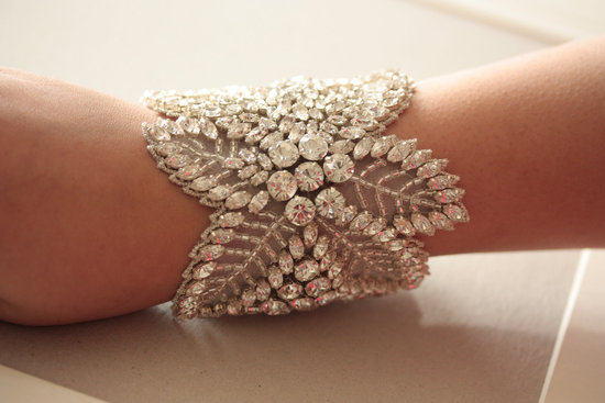 bridal cuff bracelet handmade wedding accessories 14