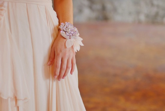 bridal cuff bracelet handmade wedding accessories 19