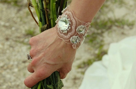 bridal cuff bracelet handmade wedding accessories 20