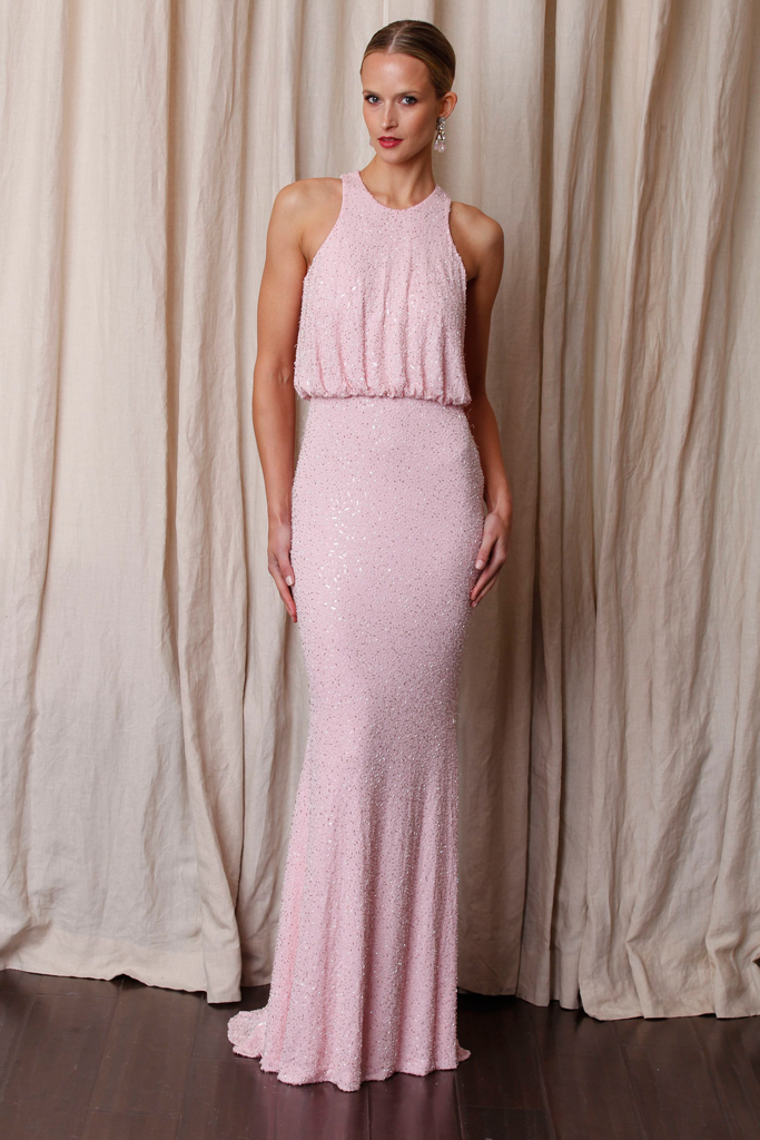 photo of white aisle worthy dresses by Naeem Khan Pre Fall 2012 4