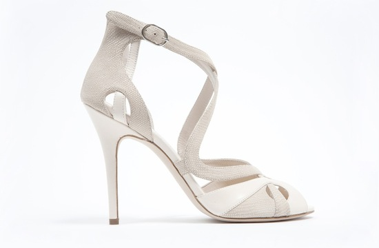 wedding shoes by monique lhuillier Spring 2013 bridal heels 13