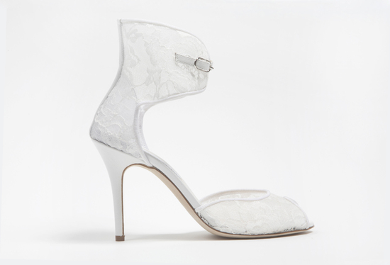 wedding shoes by monique lhuillier Spring 2013 bridal heels 6