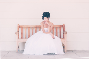 photo of Retro Romance Wedding Inspiration Through a High-Fashion Lens