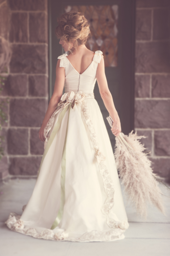 photo of Retro Romance Wedding Inspiration with a High-Fashion Twist