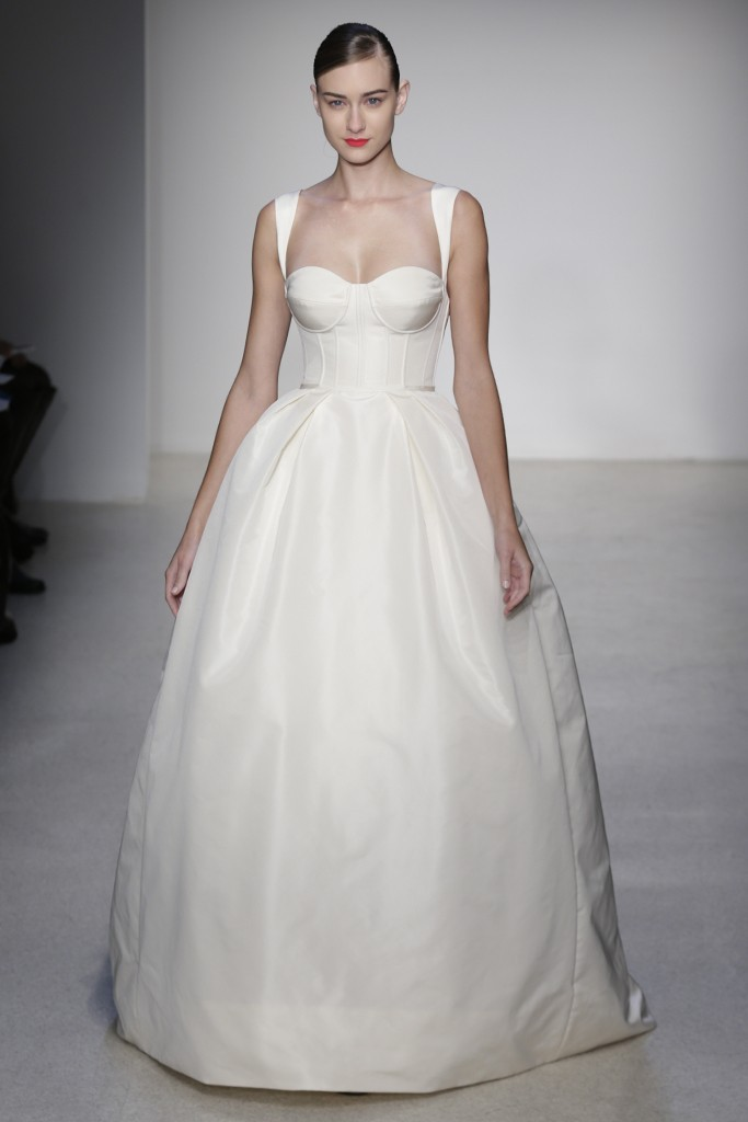 Fall 2013 Wedding Dress by Amsale timeless bridal style 1
