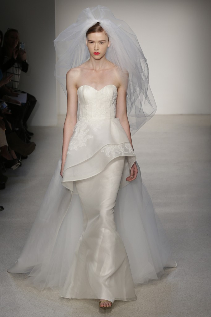 photo of Understated Elegance for the Timeless Bride: Fall 2013 Amsale Wedding Dress Collection