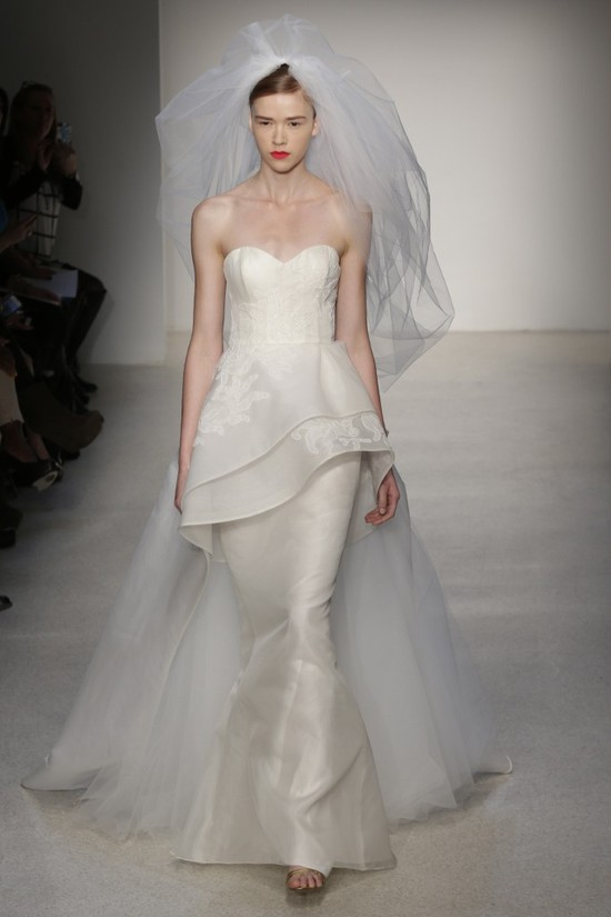 Fall 2013 Wedding Dress by Amsale timeless bridal style 16