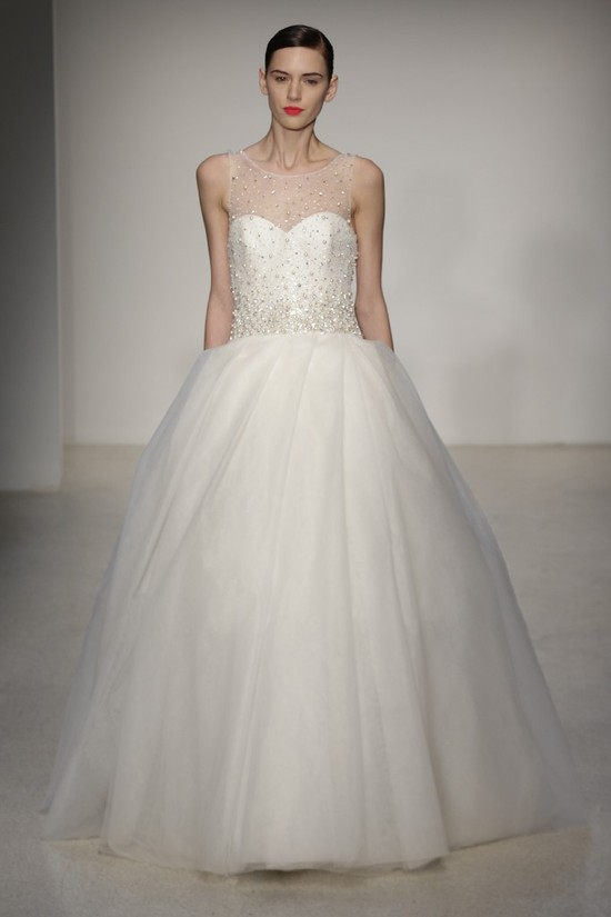 Fall 2013 Wedding Dress by Amsale timeless bridal style 11