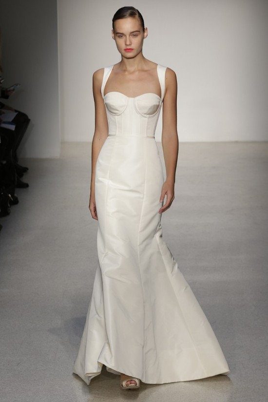 Fall 2013 Wedding Dress by Amsale timeless bridal style 3
