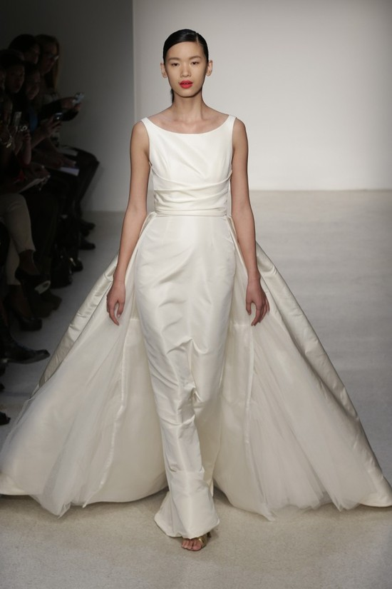 Fall 2013 Wedding Dress by Amsale timeless bridal style 2