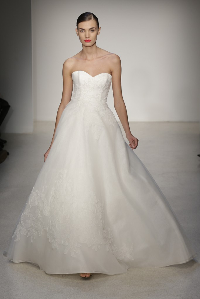 Fall 2013 Wedding Dress by Amsale timeless bridal style 14
