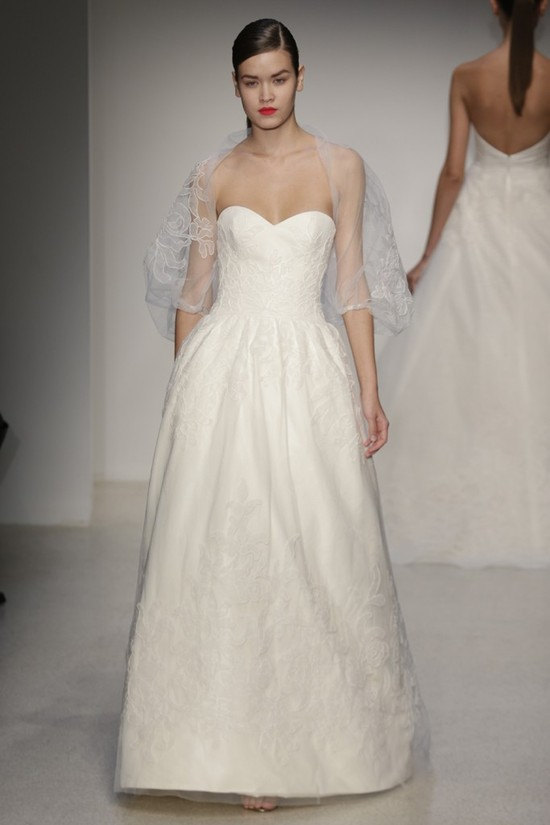 Fall 2013 Wedding Dress by Amsale timeless bridal style 15