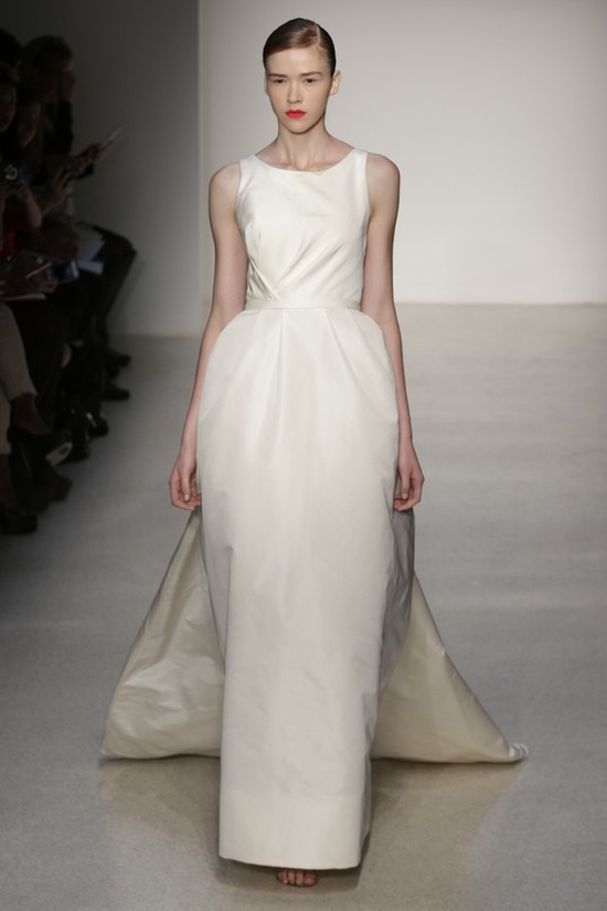 Fall 2013 Wedding Dress by Amsale timeless bridal style 4