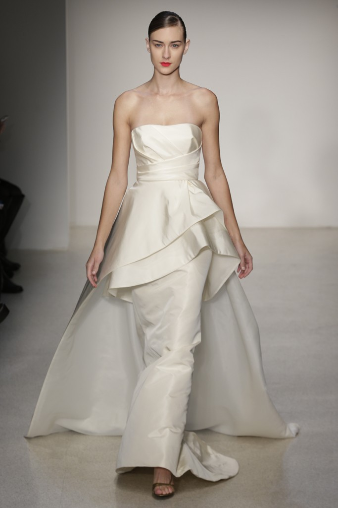 Fall 2013 Wedding Dress by Amsale timeless bridal style 10