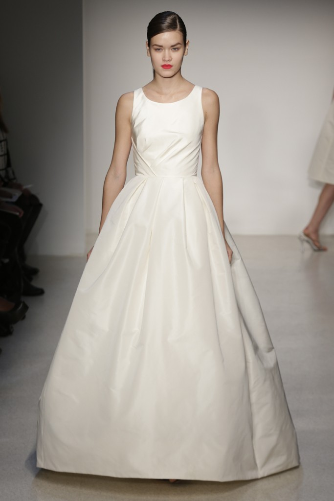 Fall 2013 Wedding Dress by Amsale timeless bridal style 6
