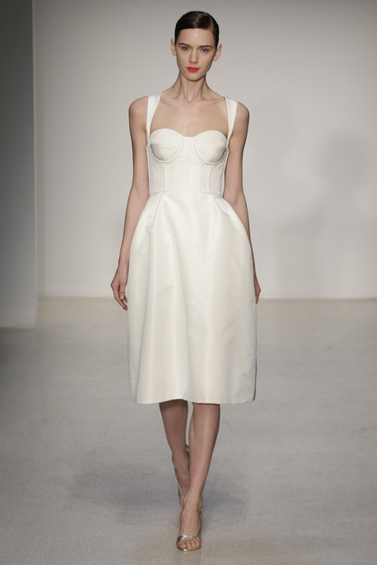 Fall 2013 Wedding Dress by Amsale timeless bridal style 5