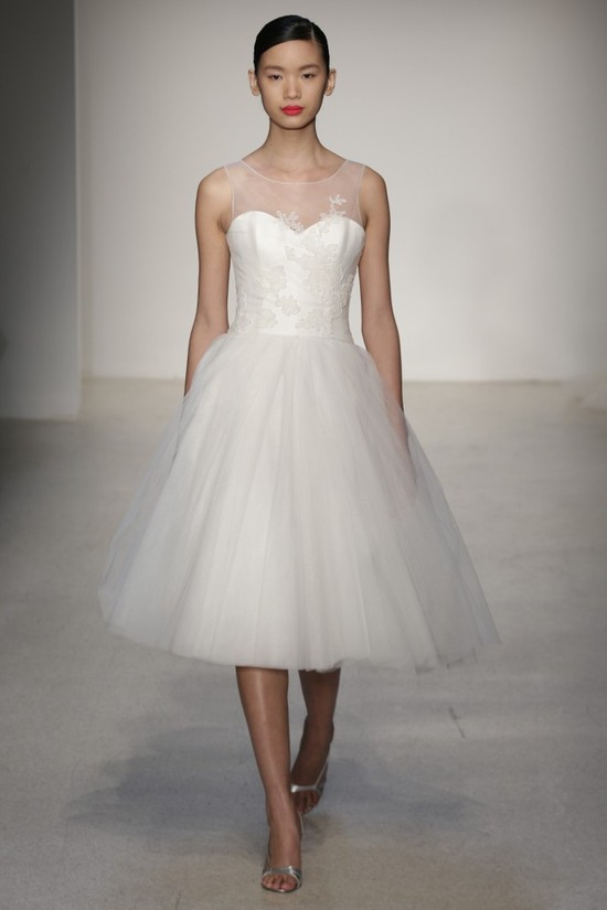 Fall 2013 Wedding Dress by Amsale timeless bridal style 12