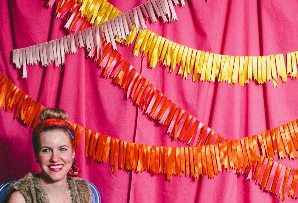 beautiful wedding backdrops Etsy handmade weddings ribbon