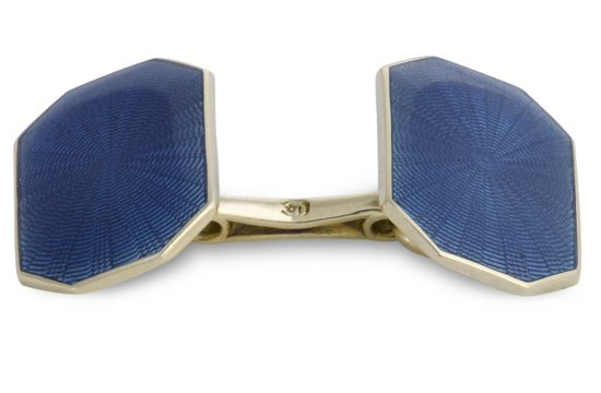 grooms wedding attire dapper accessories statement cufflinks blue