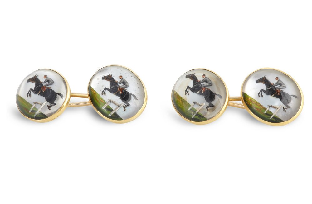 15 unexpected wedding gifts from the bride to her groom equestrian cufflinks