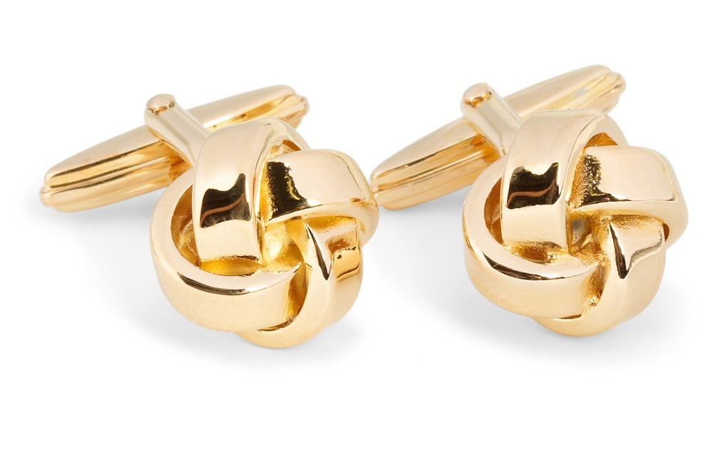 15 unexpected wedding gifts from the bride to her groom gold cufflinks