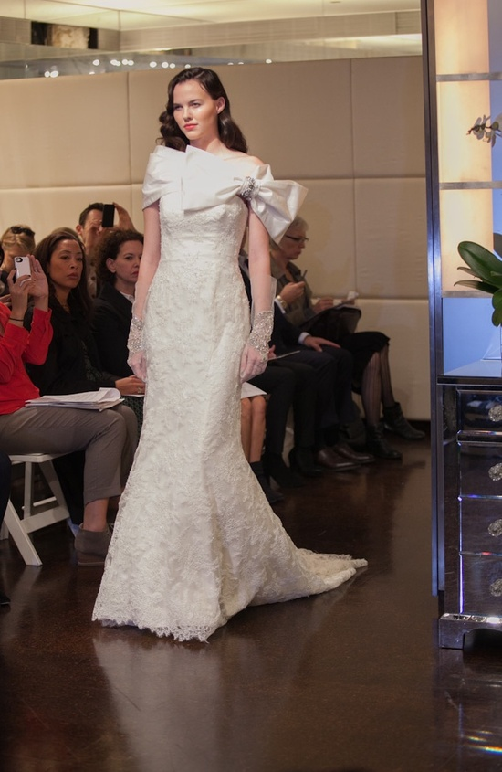 Fall 2013 wedding dress Badgley Mischka bridal gowns Venus