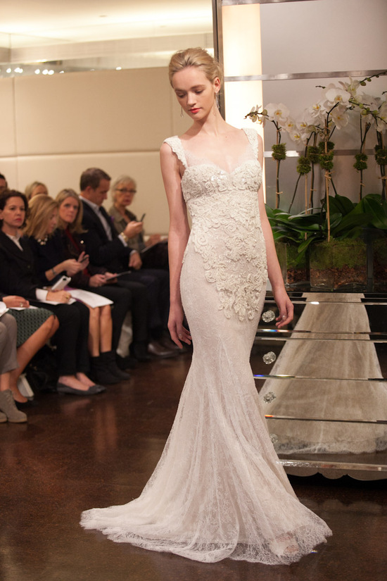 Fall 2013 wedding dress Badgley Mischka bridal gowns Aquarius