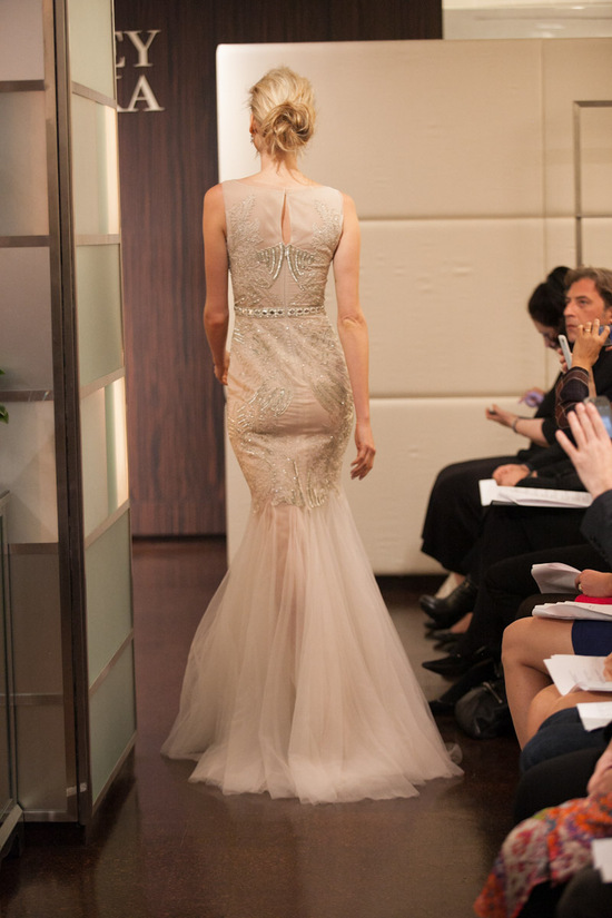 Fall 2013 wedding dress Badgley Mischka bridal gowns Pisces