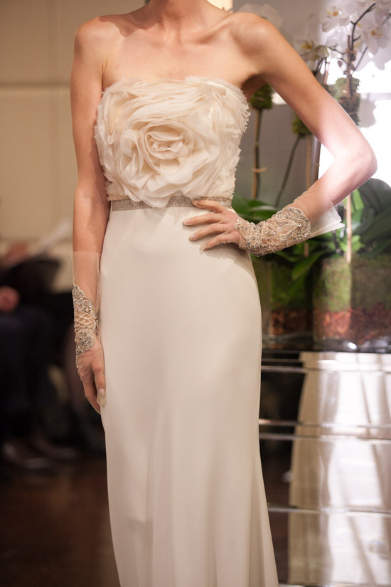 Fall 2013 wedding dress Badgley Mischka bridal gowns Omega