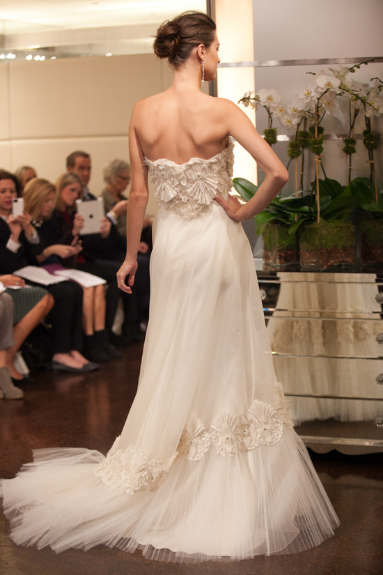 Fall 2013 wedding dress Badgley Mischka bridal gowns Gemini