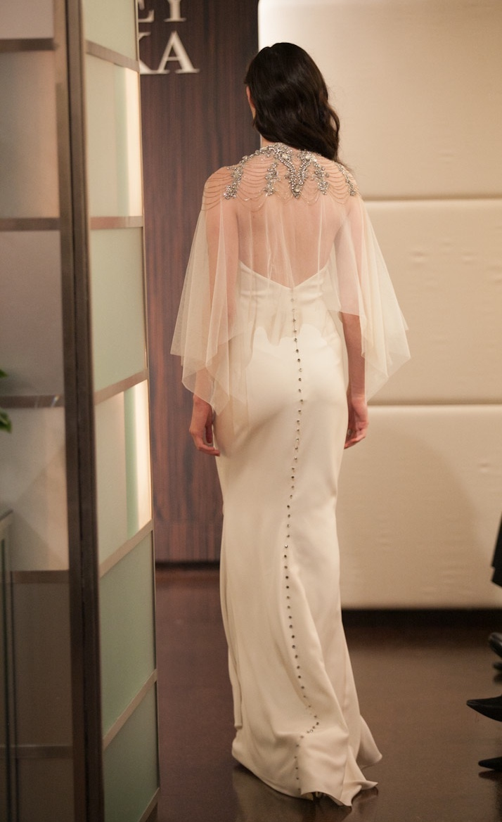 Fall 2013 wedding dress Badgley Mischka bridal gowns Cordelia
