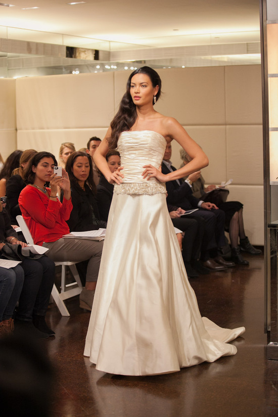 Fall 2013 wedding dress Badgley Mischka bridal gowns Celestia 2 piece 2